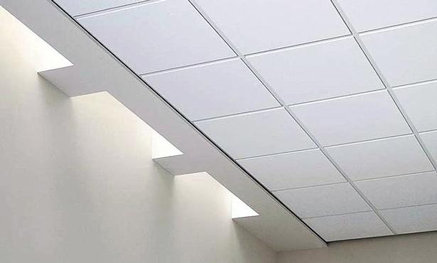 Звукоизоляция при помощи акустического потолка