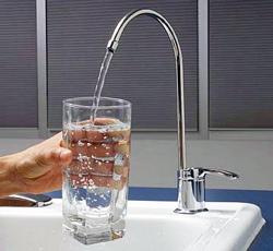 Врезной стационарный водоочиститель