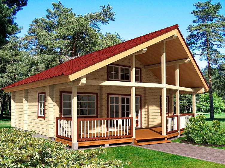 Чем удобен проект типовой сборного дома?
